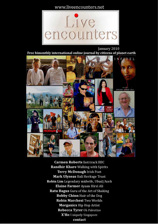 Live Encounters Annual 2010
