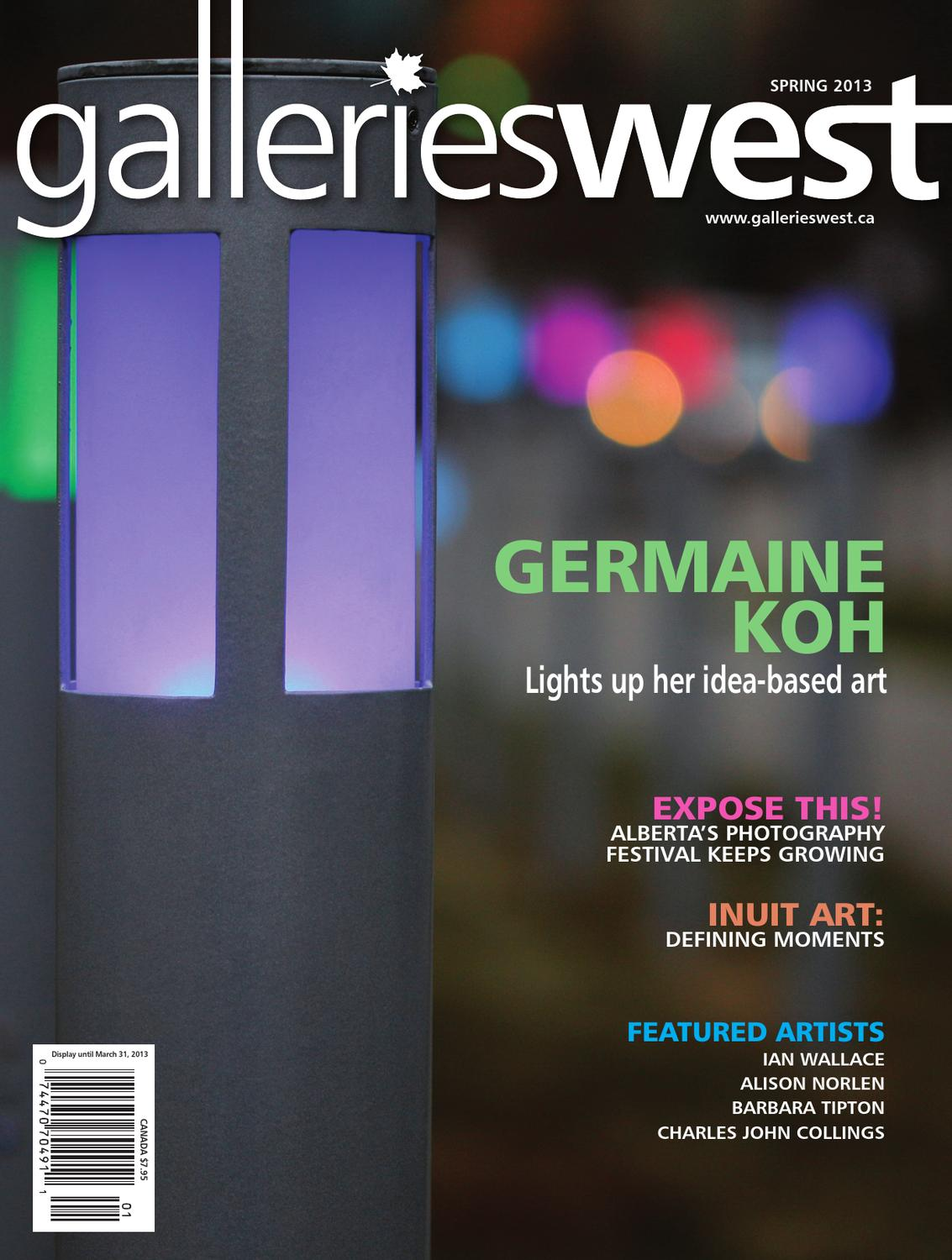 Galleries West Spring 2013 By Issuu Other Circuit Skills Diy Videos Collin