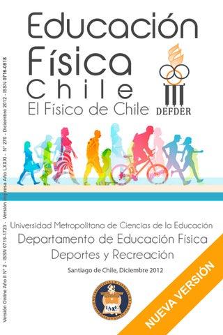 42606c45d Revista Educación Física 2012 by UMCE - issuu