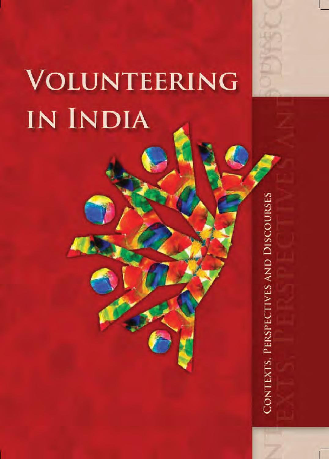 Volunteering in India: Contexts, Perspectives and Discourses