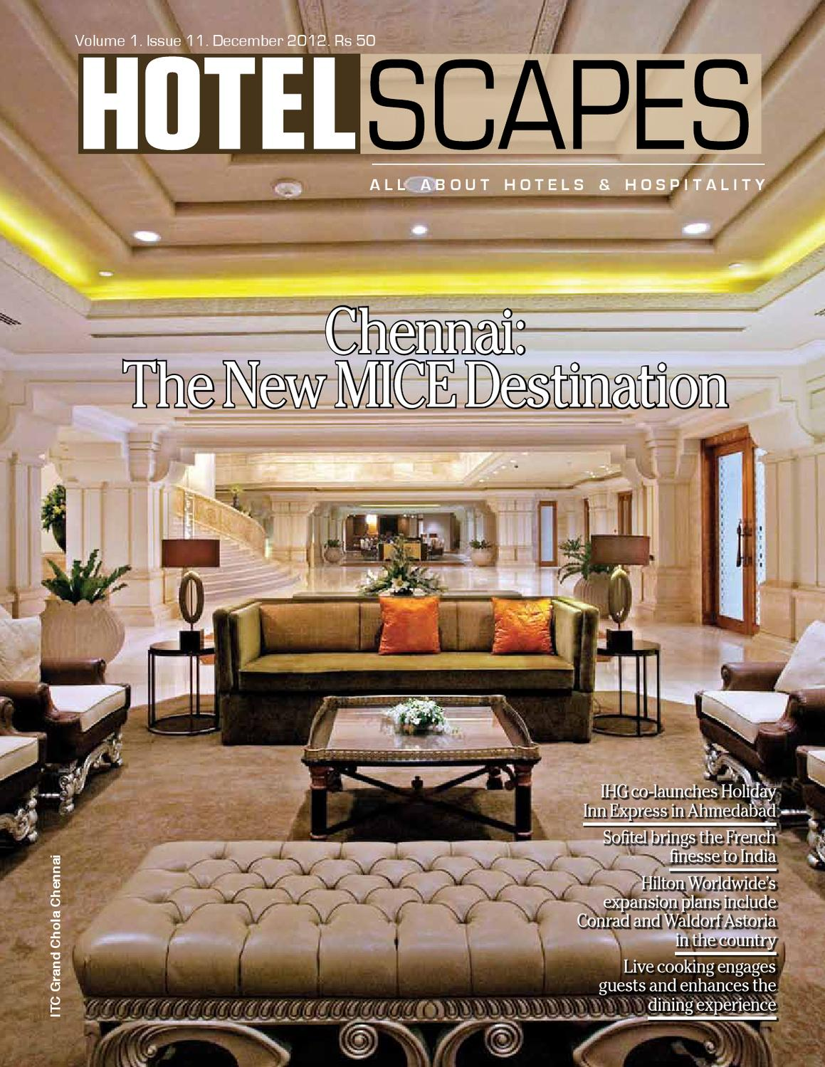 Hotelscapes DECEMBER 2012 by Cross Section Interactive Private ...
