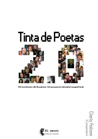 Tinta de poetas 2.0 - Darío Falconi (Comp.) by El Mensú Ediciones ... 62dece69891