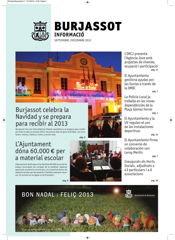 Bim Septiembre Diciembre 2012 By Redes Burjassot Issuu