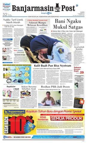 Banjarmasin Post Edisi Kamis, 27 Desember 2012 by