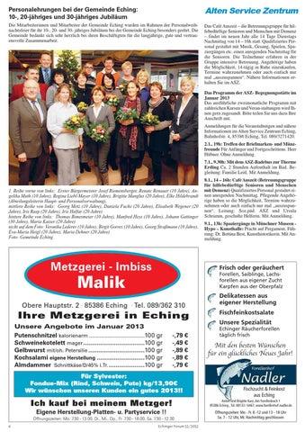 Echinger Forum 2012 Ausgabe 12 by zillgitt bfk buero fuer