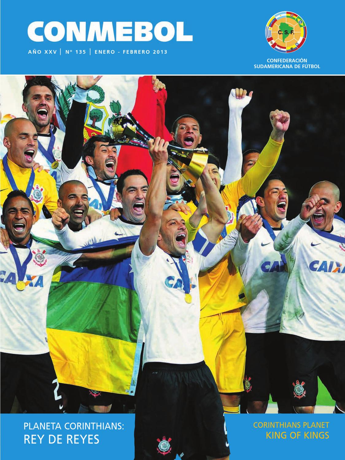 newest collection 0cd6e be849 Revista Conmebol Nº 135 - ene feb 2013 -  español inglés  by Confederación  Sudamericana de Fútbol - issuu