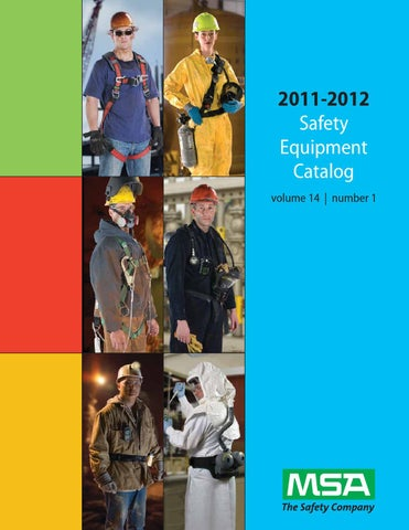 MSA Safety Products Catalog by Mallory Safety & Supply - issuu