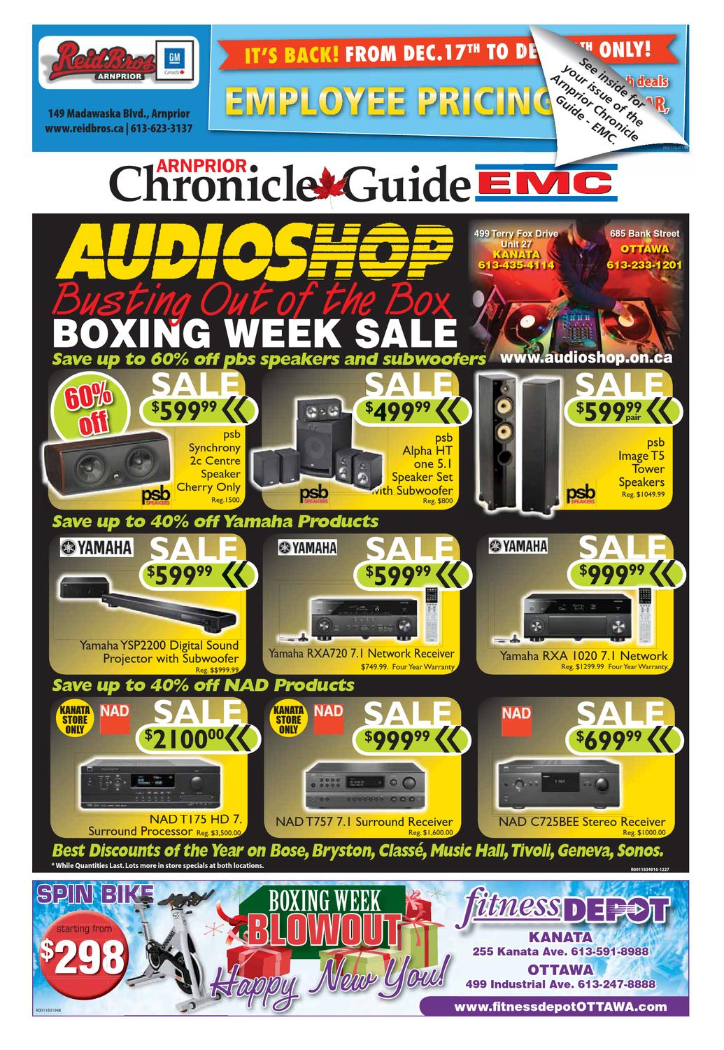 Arnprior Chronicle Guide Emc By Metroland East Electrician Domestic Electrical Services Cas Issuu