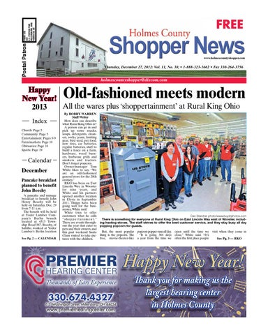 Holmes county shopper december 27 2012 by gatehouse media neo issuu page 1 fandeluxe Image collections