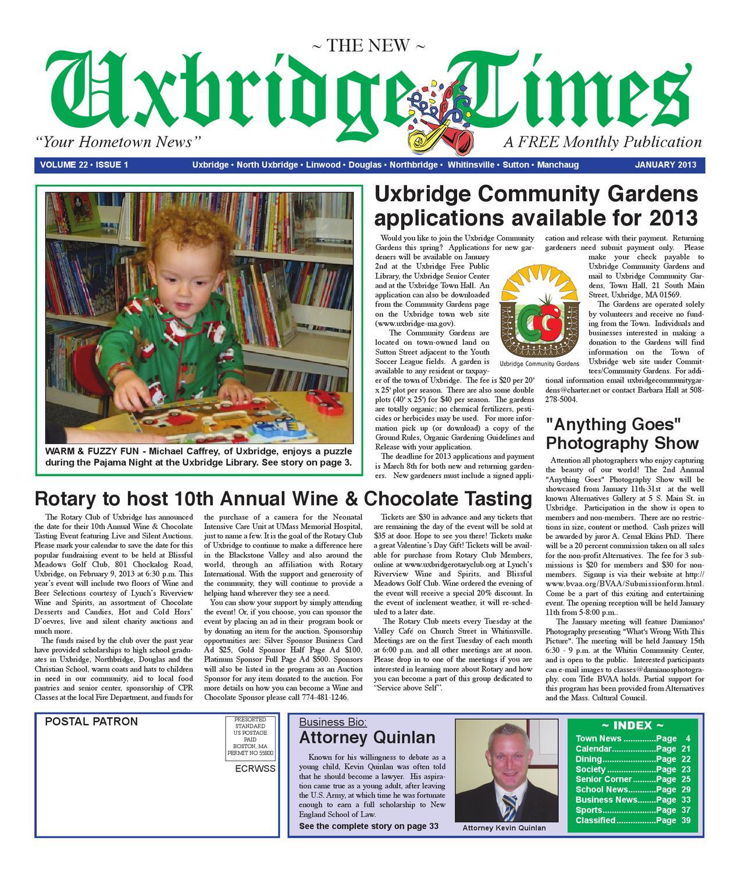 Heartlake Times January 2013: Jan 2013 By The New Uxbridge