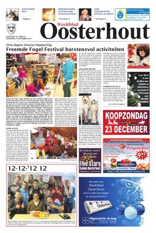 Weekblad Oosterhout B 19 12 2012 By Uitgeverij Em De Jong Issuu