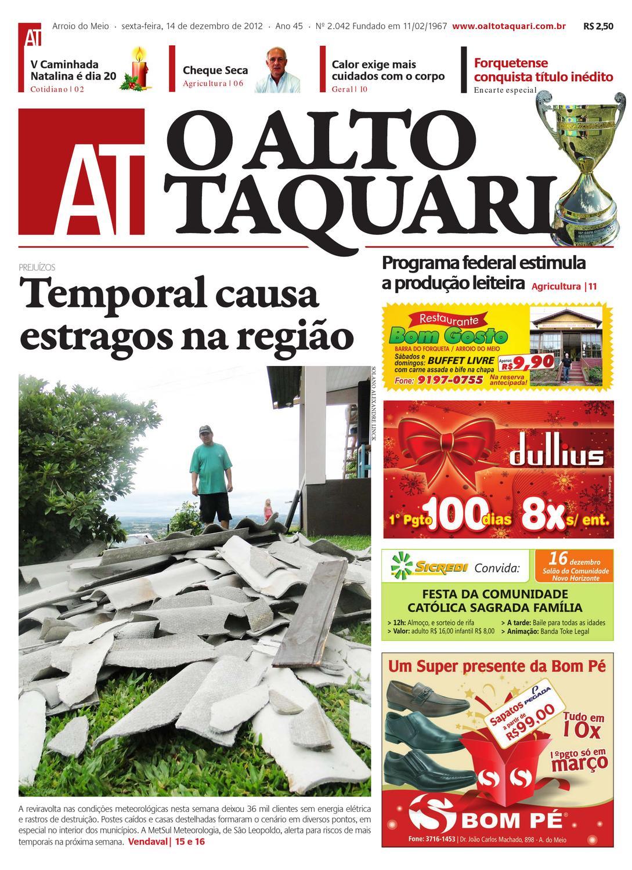 92c7d6c41 Jornal O Alto Taquari - 14 de dezembro de 2012 by Jornal O Alto Taquari -  issuu