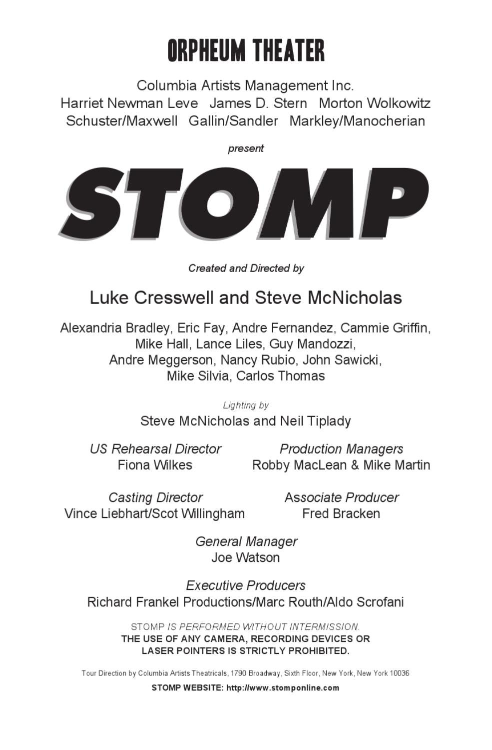 STOMP by OnMedia Publications - issuu