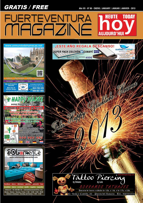FUERTEVENTURA MAGAZINE HOY - Nº 80 - ENERO 2013 by Fuerteventura ...