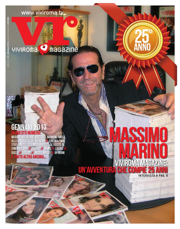 Viviroma 01 2013 gennaio by viviroma viviroma issuu - Elisabetta diva futura ...