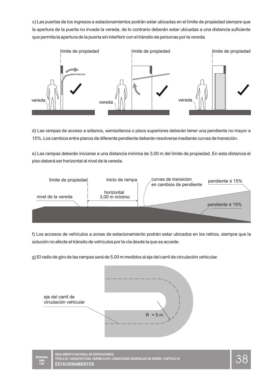Rnc Reglamento Nacional De Contruccion Ilustrado Peru
