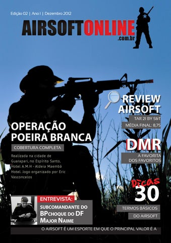 Revista Airsoft Online - Dezembro 2012 by Airsoft Online - issuu 9b4aa7d45f169