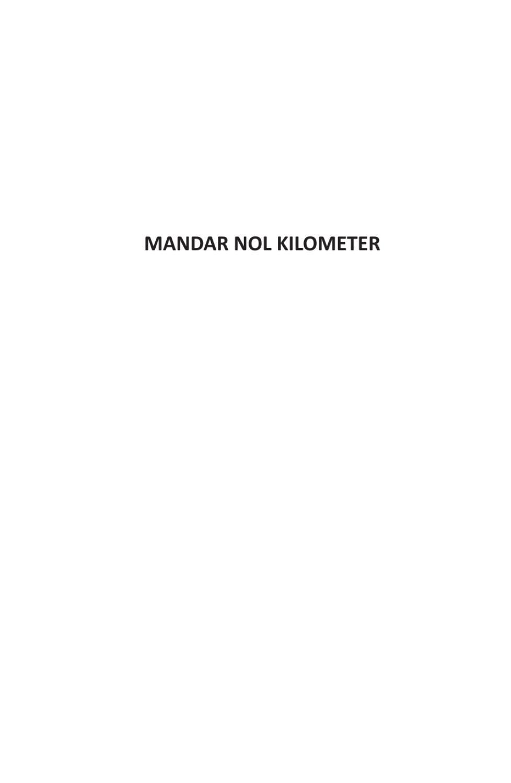Mandar Nol Kilometer By Muhammad Ridwan Issuu