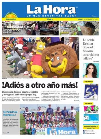 By De Diario Ecuador Diciembre 31 Hora La El Oro 2012 J1lTFKc
