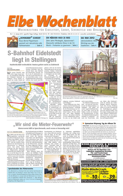 Eidelstedt KW01-2013 by Elbe Wochenblatt Verlagsgesellschaft mbH ...