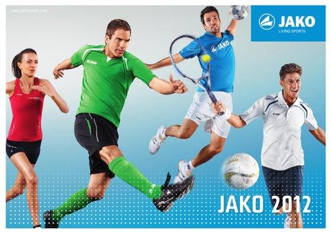 JAKO Player Polyesterjacke 9368 schwarz weiß Größe 152