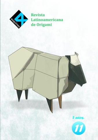 origami 4 esquinas
