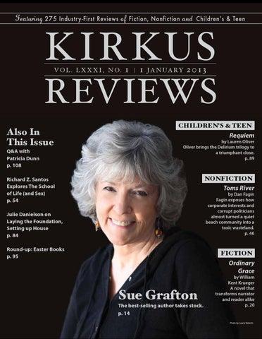 January 1 2013 Volume Lxxxi No 1 By Kirkus Reviews Issuu