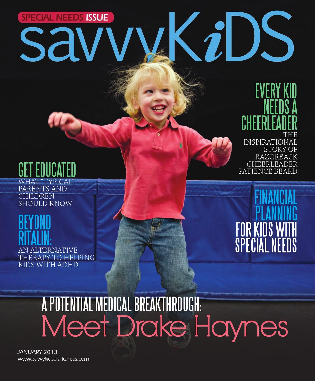 Heartlake Times January 2013: Savvy Kids January 2013 By Arkansas Times