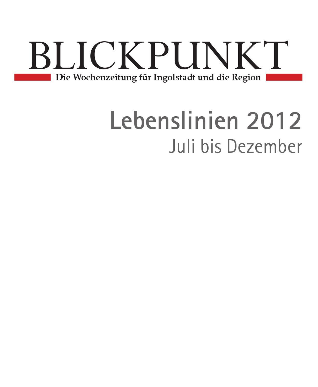 Lebenslinien2, Blickpunkt, espresso, Ingolstadt by BLICKPUNKT - issuu