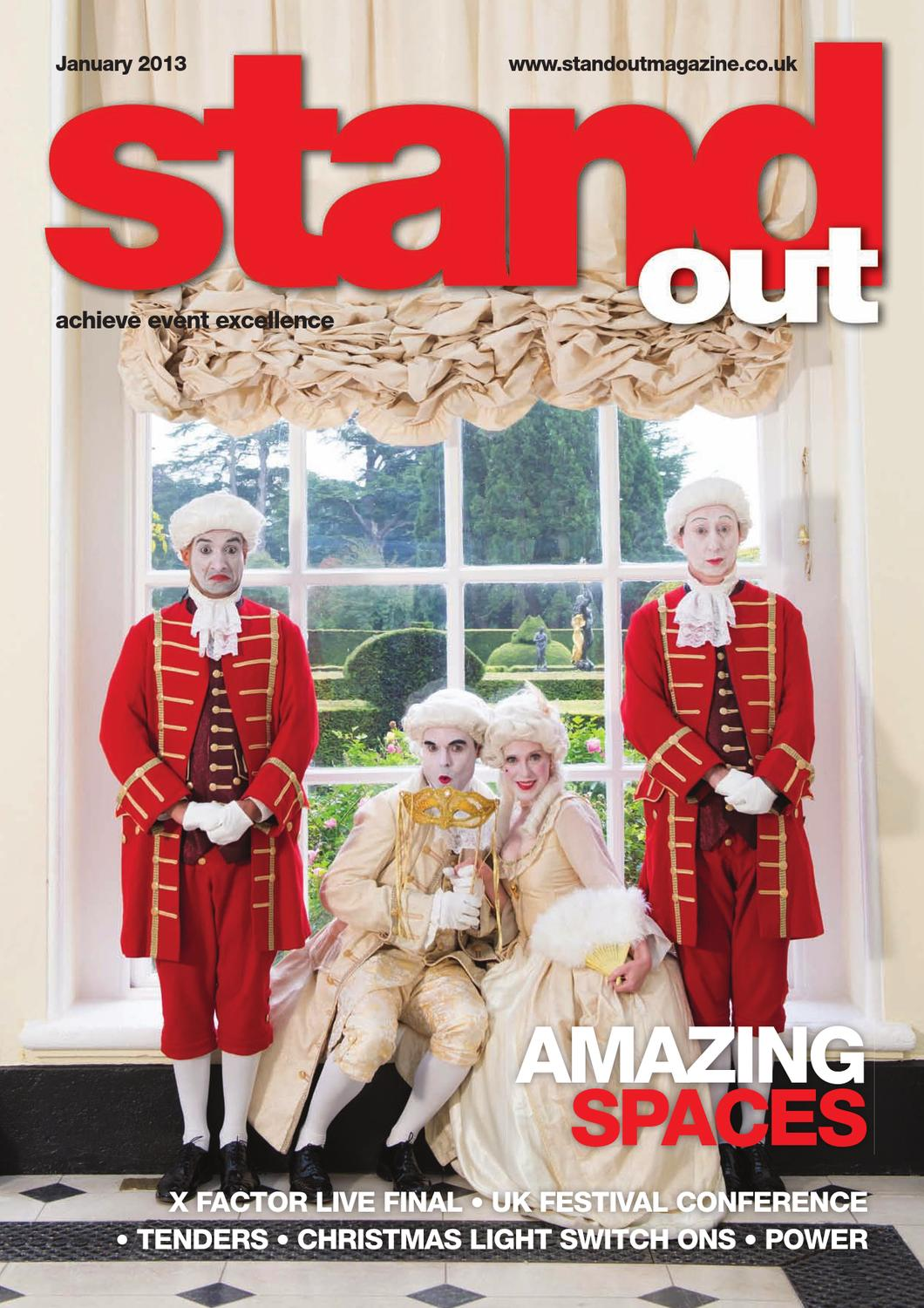 Stand Out Magazine January 2013 Issue by CIM Online LTD - issuu