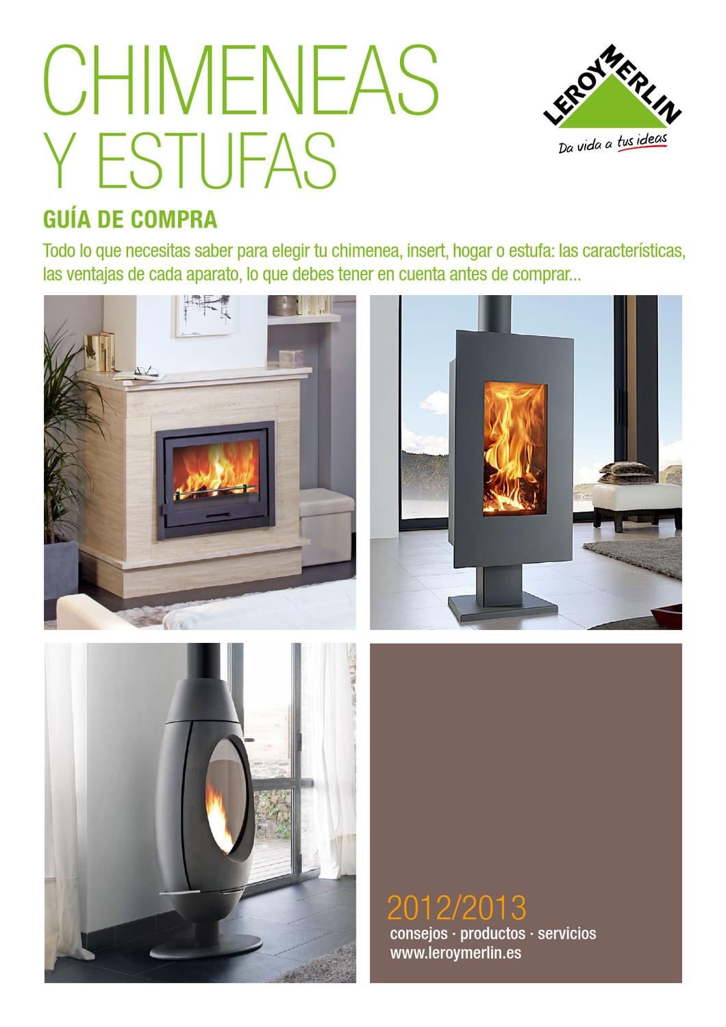 Leroy merlin catalogo gu a de chimeneas by hackos ecc issuu - Adaptar chimenea para calefaccion ...