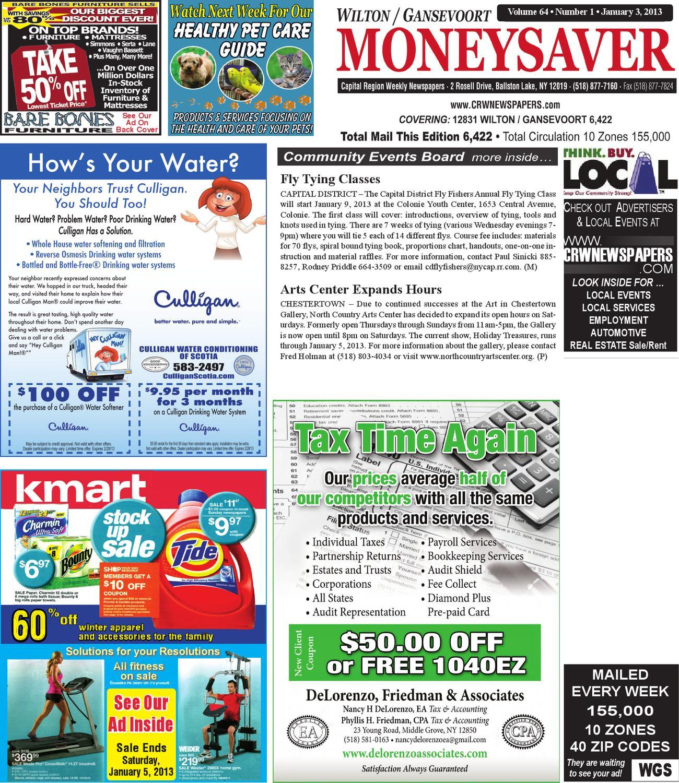 wilton gansevoort moneysaver by capital region weekly