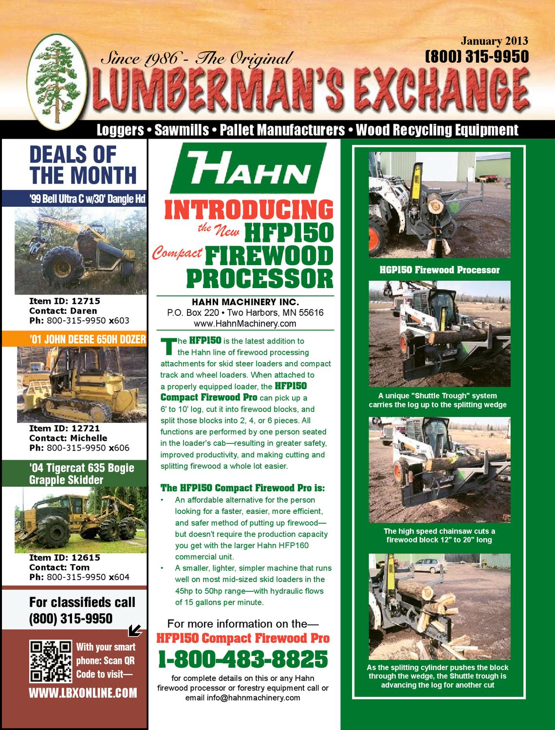 The Lumberman's Exchange brought to you by LBX Online by