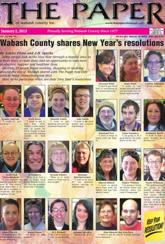 Jan 2 2013 By The Paper Of Wabash County Issuu