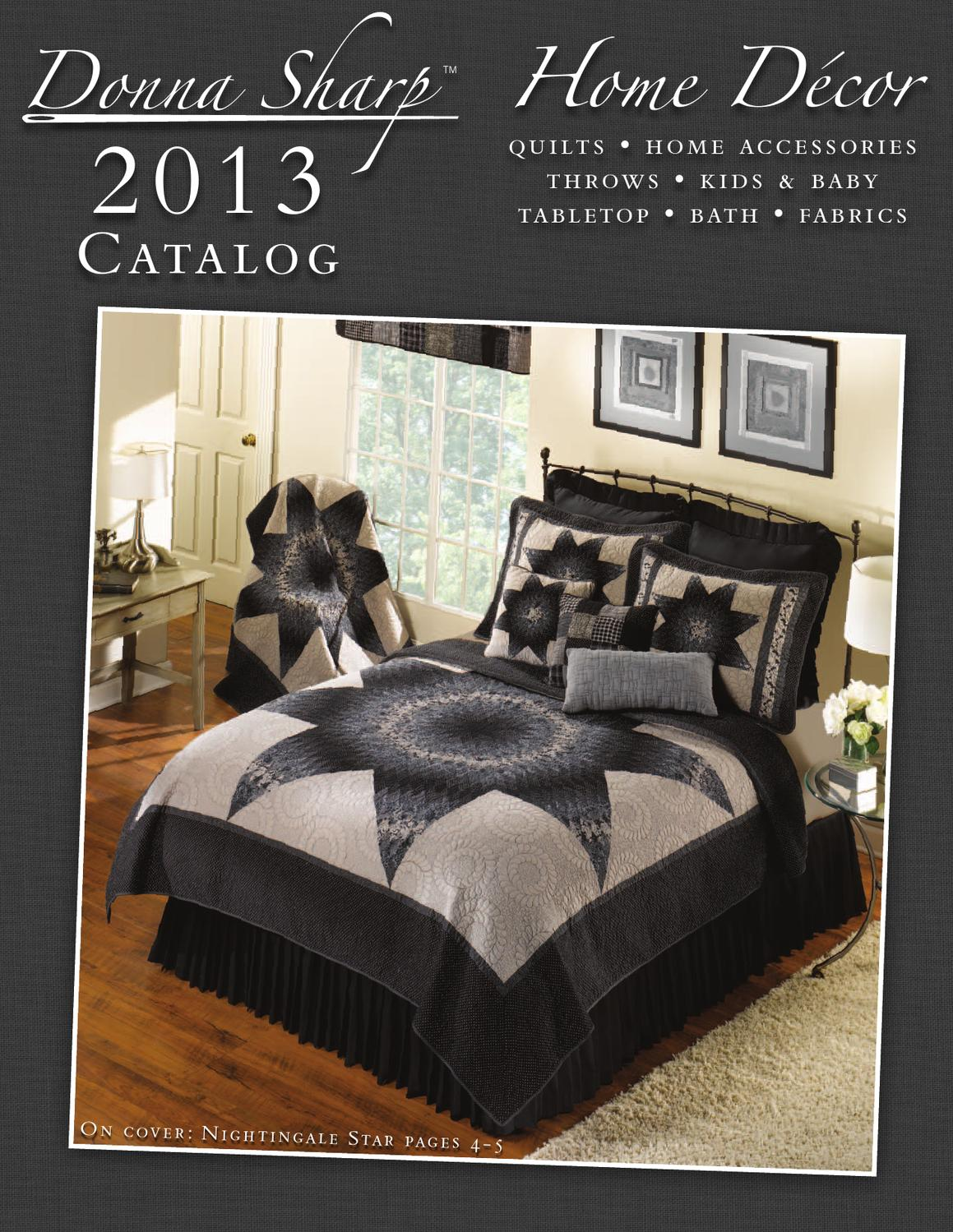 2013 Donna Sharp Home Décor Catalog