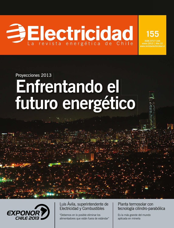 2e61294fed1b9 Proyecciones 2013  Enfrentando el futuro energético by Editec Revista  Electricidad - issuu