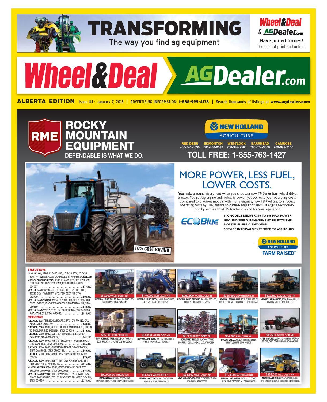 Wheel & Deal Alberta, January 7, 2013 by Farm Business Communications -  issuu