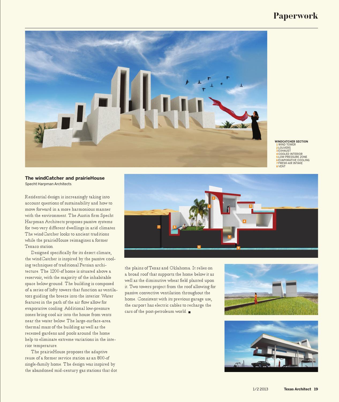 Texas Architect - Jan/Feb 2013: Residential Design by Texas