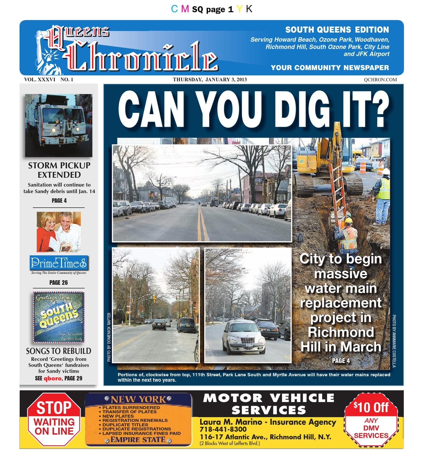 Queens Chronicle South Edition 01-03-13
