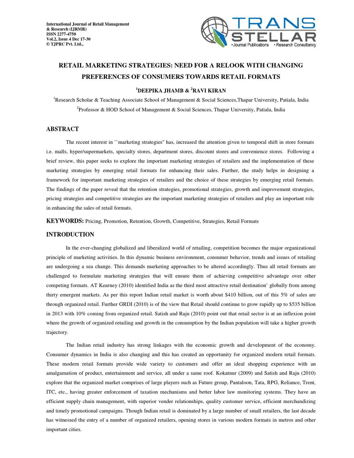 2 RMR Retail FULL by Transtellar Publications - issuu