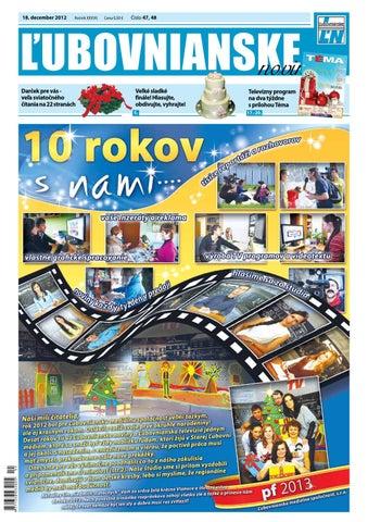 6a133a335911 Ľubovnianske noviny č. 47