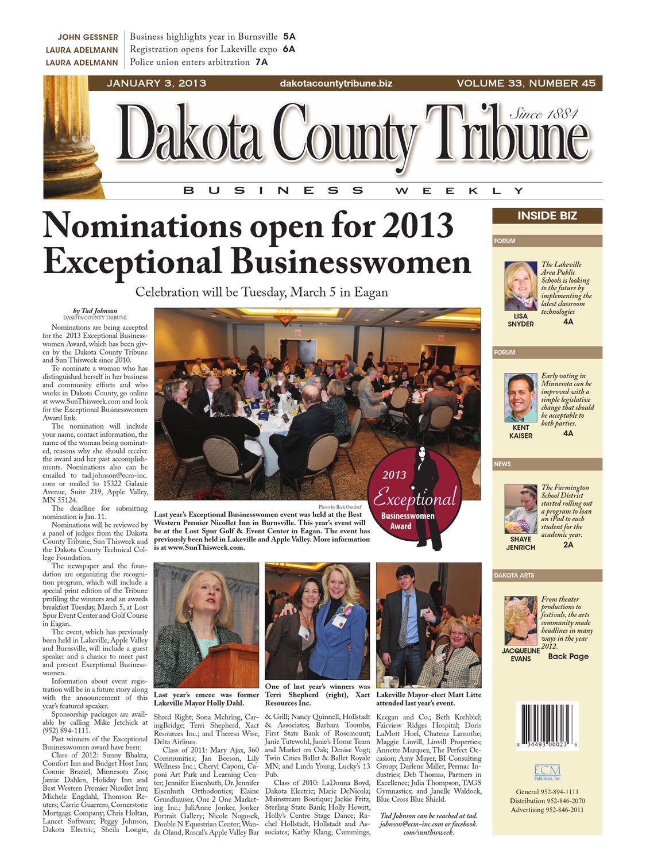dakota county tribune business weekly by dakota county tribune - issuu