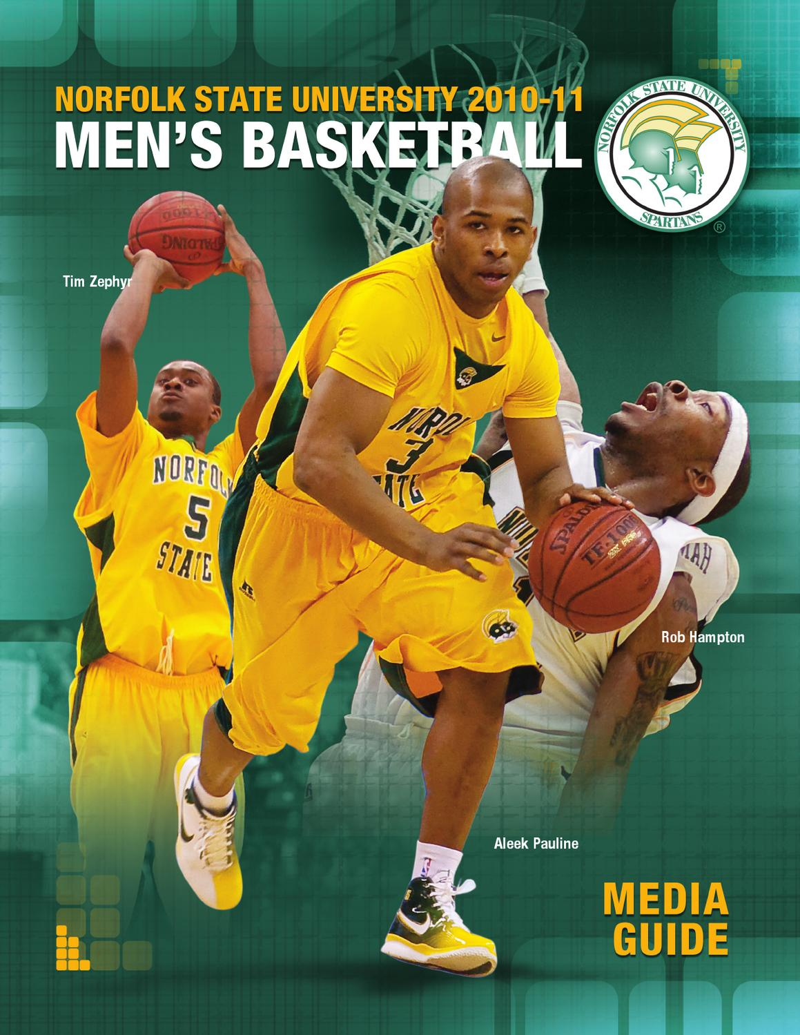 2010-11 NSU Men's Basketball Media Guide by Matt Michalec ...