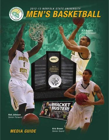 2012-13 NSU Men's Basketball Media Guide