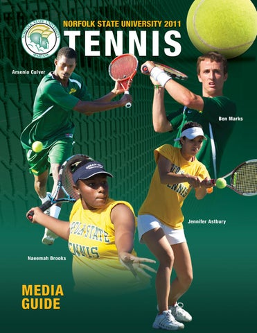 637367dd16 2011 NSU Tennis Media Guide by Matt Michalec - issuu