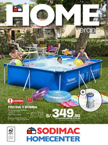 Piscina de plastico homecenter for Donde venden piscinas estructurales