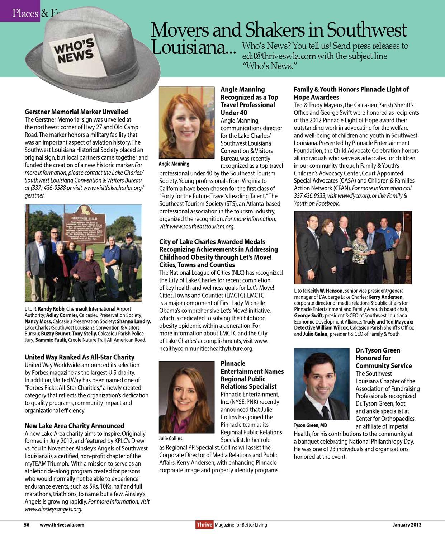 Thrive January 2013 Issue by Thrive Magazine - issuu