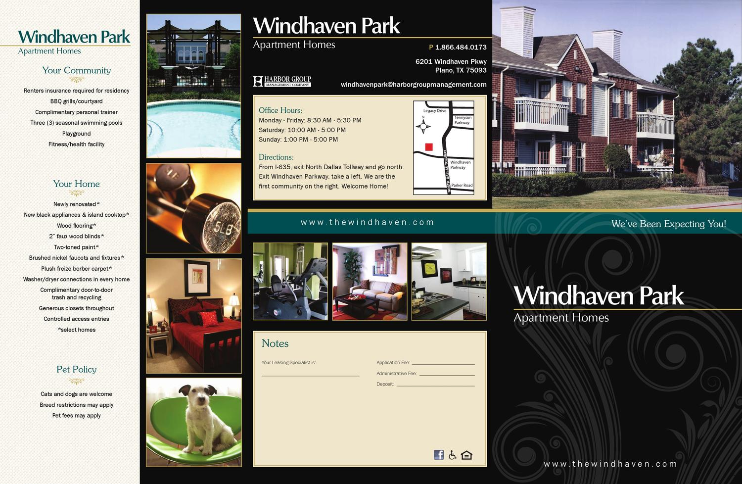 Windhaven Park By Targeted Marketing Issuu