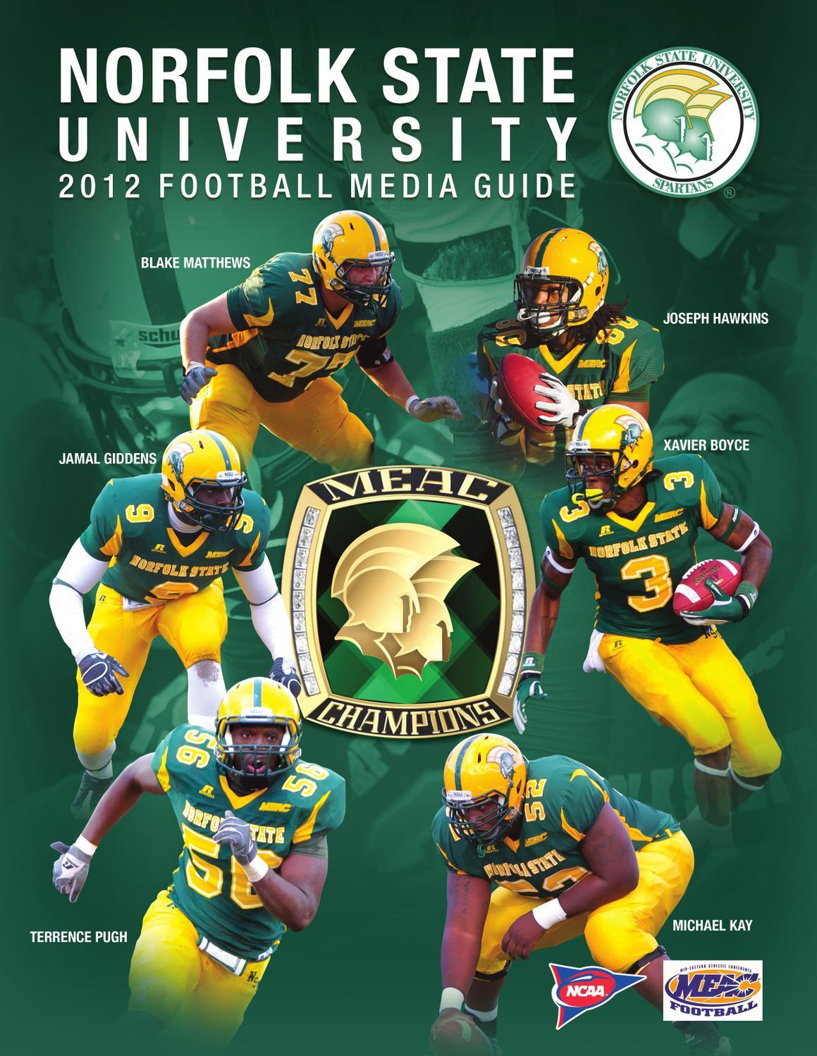 2012 NSU Football Media Guide by Matt Michalec - Issuu