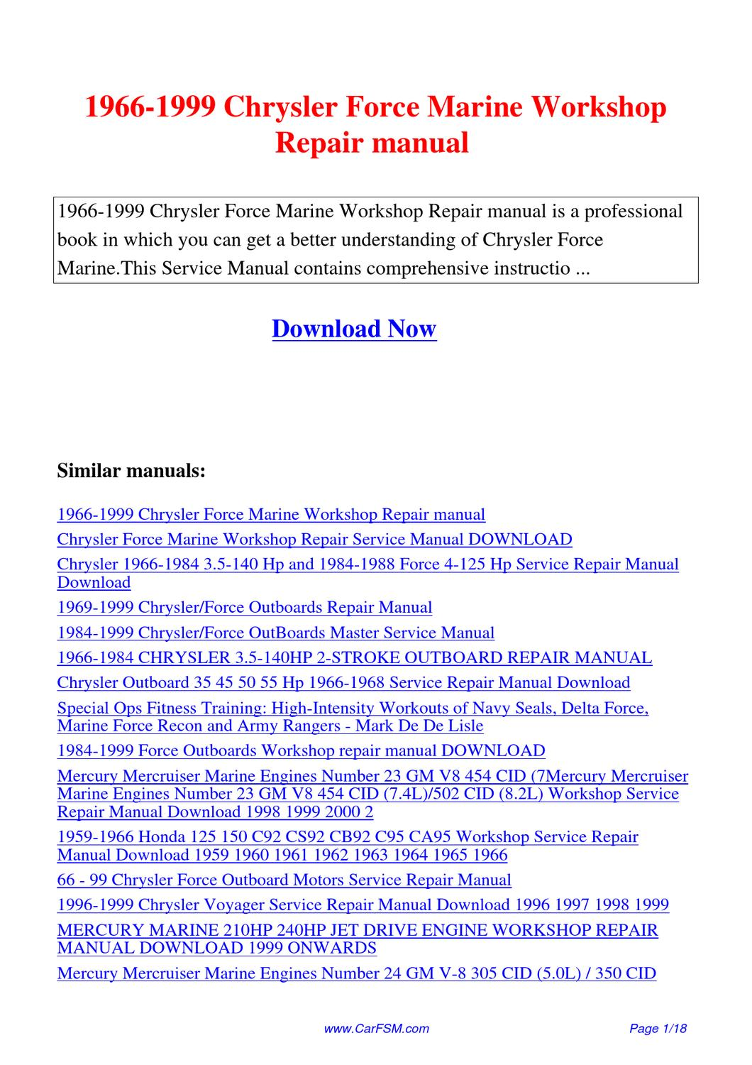 mercury 3.5 hp outboard service manual